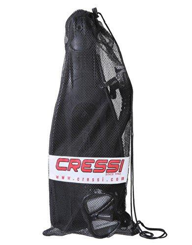 Cressi Pro Star Mask, Snorkel, Fins Set