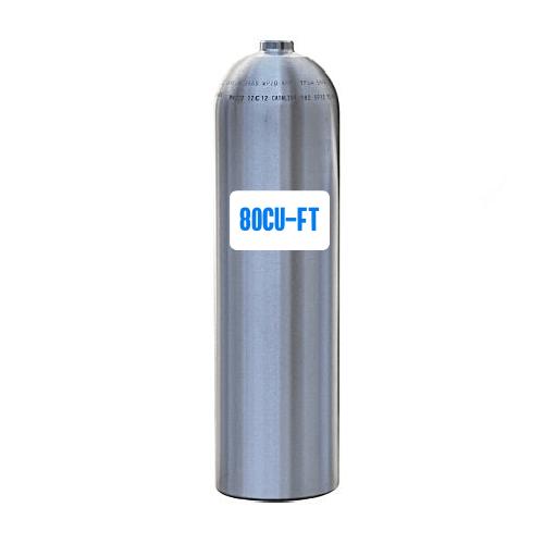 Catalina 80cu-ft aluminium dive cylinder