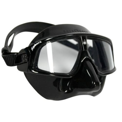 Aqua Lung Sphera Mask Black Freediving Aqualung
