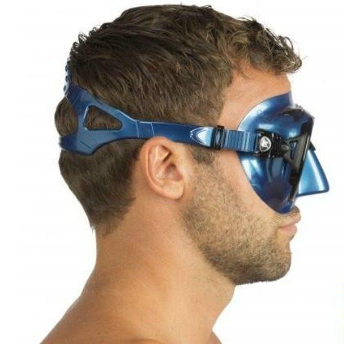 Cressi Nano Nery Blue Mask Side