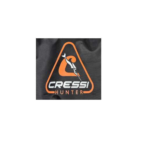 logo on padded bag