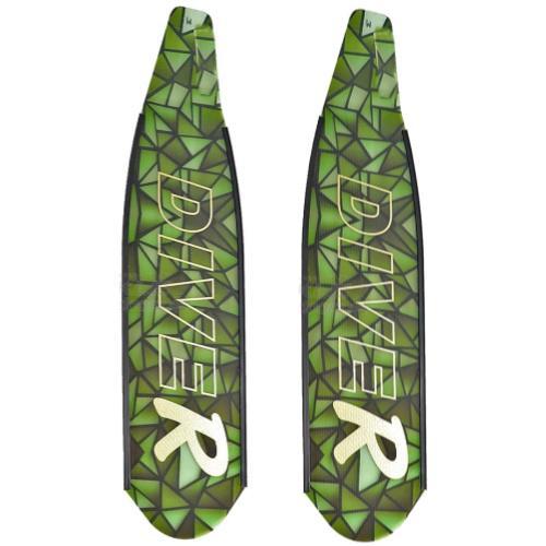 DiveR Composite Green Soft Blades