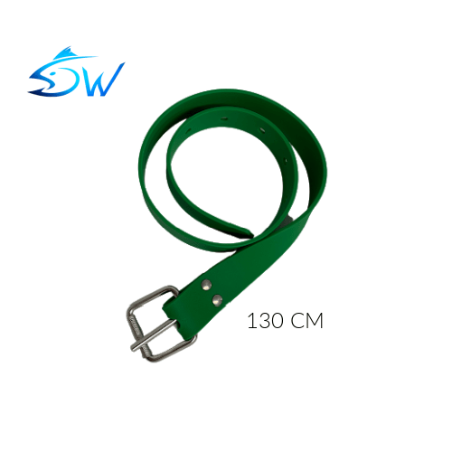 DW Green Silicone Weight Belt