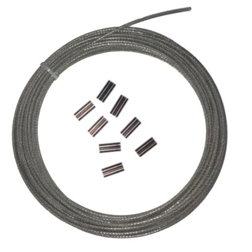Diversworld 1.6mm Coated Wire Clear