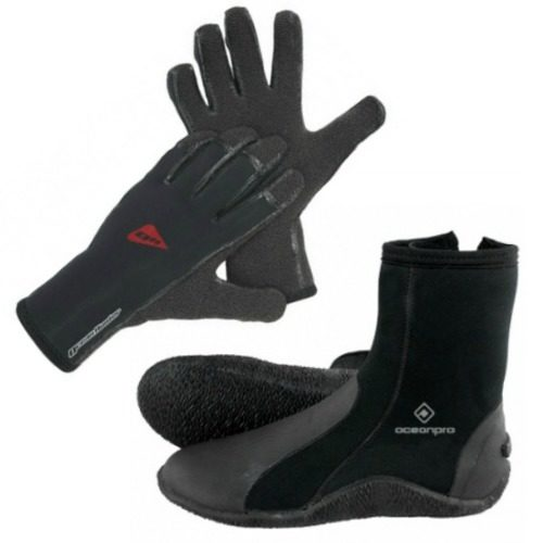 Gloves + Boots