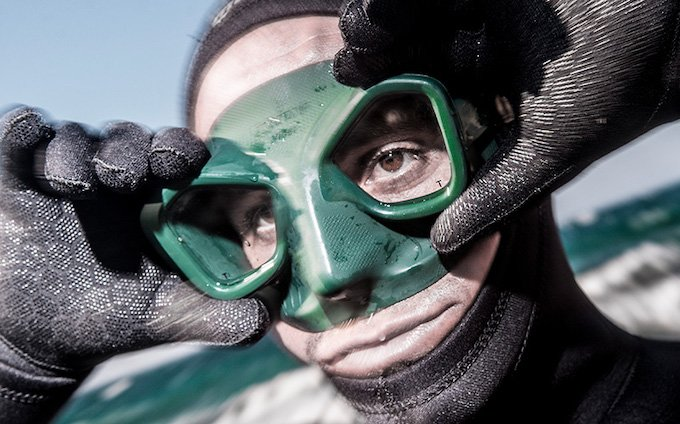How to choose a mask for spearfishing