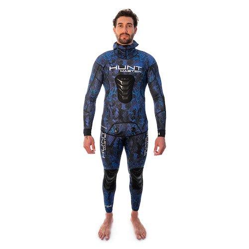 Huntmaster Huntsman Camouflage Bluewater Wetsuit Blue Spearfishing Gear Australia Diversworld Cairns