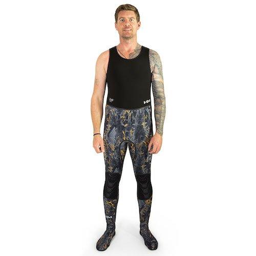 Huntmaster Huntsman Camouflage WetsuitLong John Blaze Stone Rock Spearfishing Gear Australia Diversworld Cairns.jpg