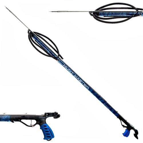 Huntmaster Wigun Speargun Blue - Aluminum - 90 - 100 - 110 Aluminium Spearguns Australia - Diversworld Cairns
