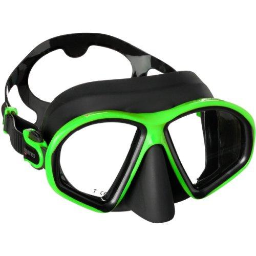 Mares sealhoutte mask black/green