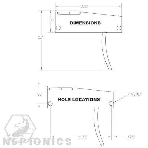 Neptonics Speargun Reverse Mechanism