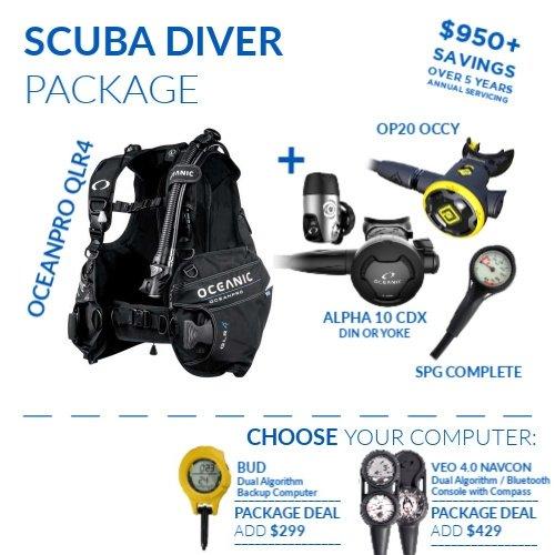 OceanPro Scuba Diver Package Scubadiving Australia Cairns Diversworld
