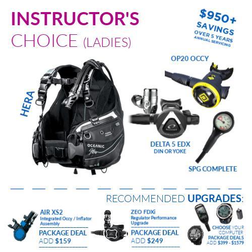 Oceanic Instructors Choice Ladies