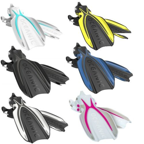 Oceanic Manta Ray Fins All Colours