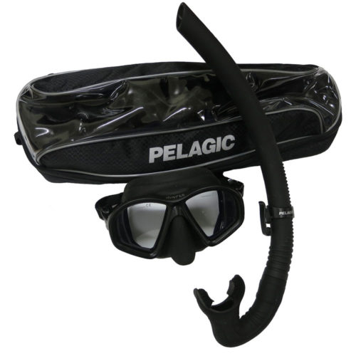 Pelagic Hunter Mask Snorkel Set