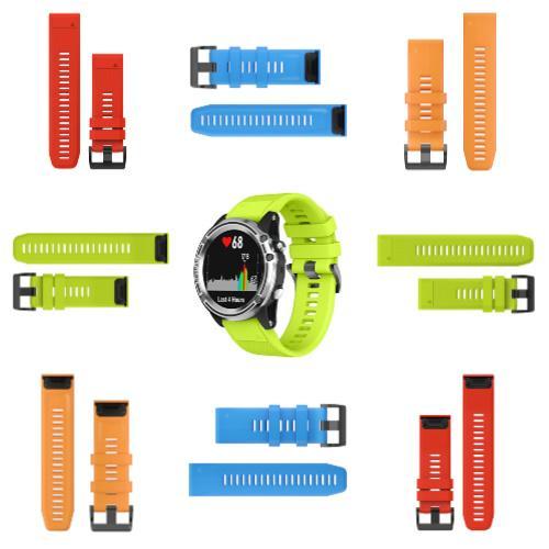 QuickFit26 WatchStrap for Garmin Descent Colours