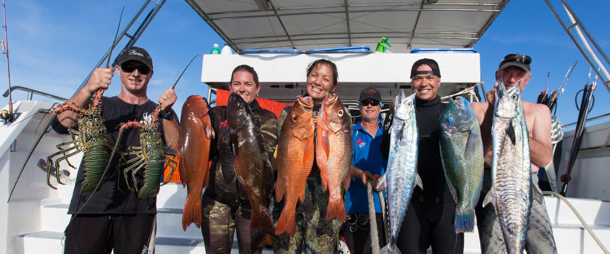 Coral Sea Reel Deep Charters Great Barrier Reef Spearfishing Liveaboard