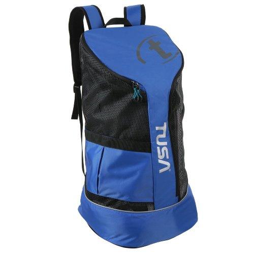 TUSA Mesh Backpack w/ziplock